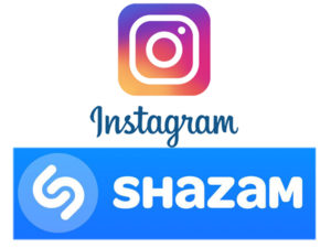 instagram / shazam