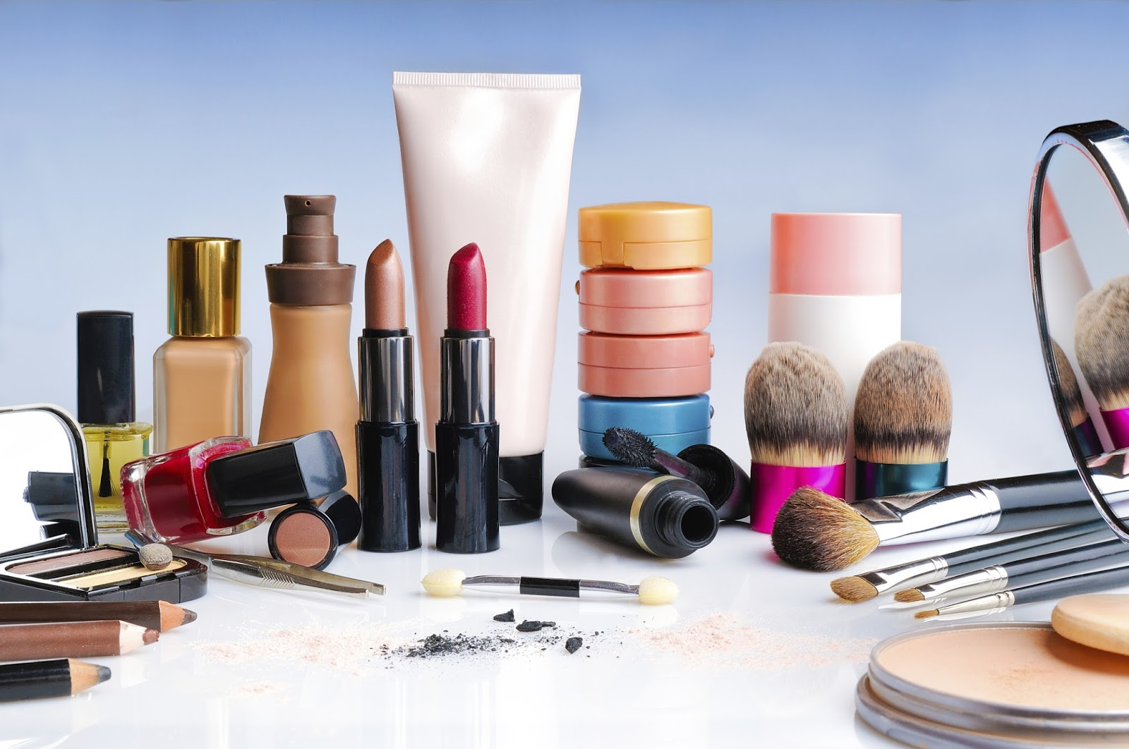 محتوای محصولات آرایشی
